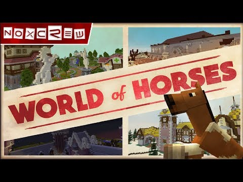 Minecraft World of Horses Gameplay Review