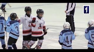 Юні гравці у хокей