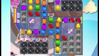 Candy Crush Saga Level 1469  with 8 moves left,   NO BOOSTERS!