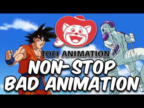 Dragon Ball Super: NON STOP BAD ANIMATION RANT! TOEI IS SO LAZY!