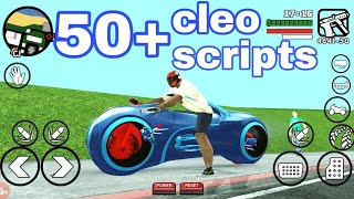 install 50 + cleo scripts in GTA San Andreas|| advance cleo scripts on GTA San Andreas in Hindi