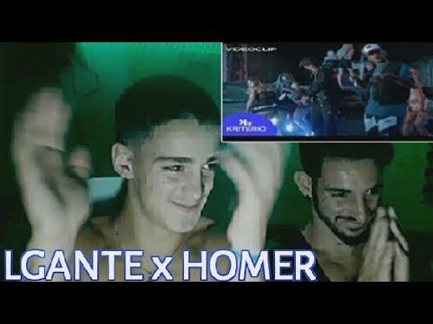 L-Gante X Homer El Mero Mero - TITUBEO (Reacción)