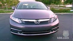 2012 Honda Civic Review - Kelley Blue Book