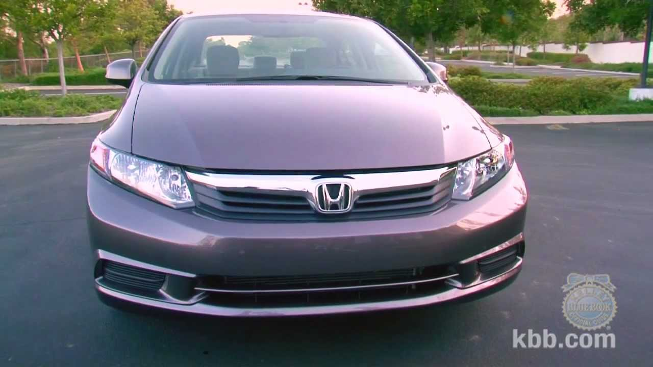 2012 honda civic review kelley blue book youtube. Black Bedroom Furniture Sets. Home Design Ideas