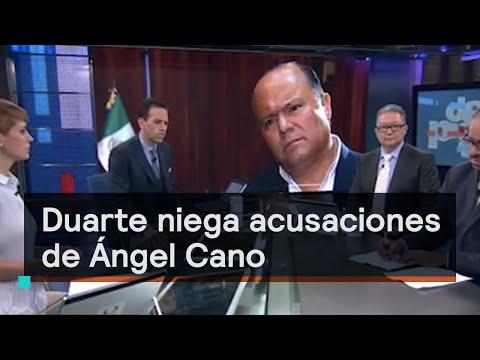 César Duarte niega