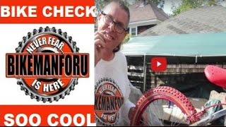 Old Skool 1980's Supergoose Mongoose BMX - Bike Check - BikemanforU