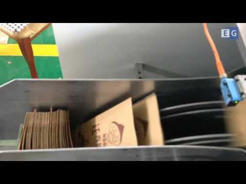 Станок для производства бумажных пакетов модели RZ 190