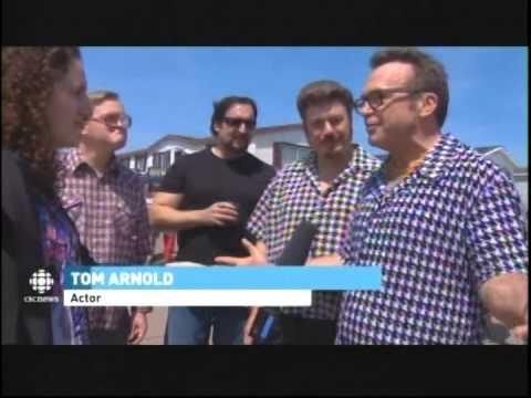 CBC  Halifax June 04 2015. Snoop Dogg , Tom Arnold and  Park Boys