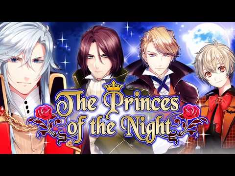 The Princes of the Night : Free romance otome games [dating sim]