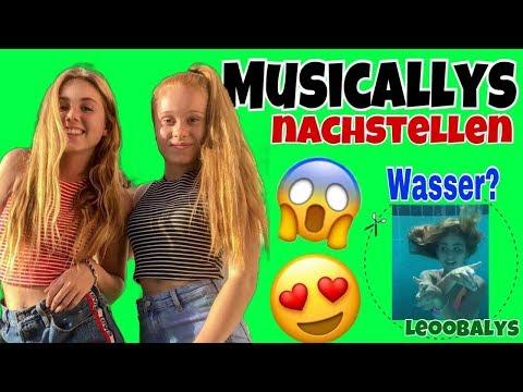 Musicallys nachstellen😍mit Dalia   LEOOBALYS
