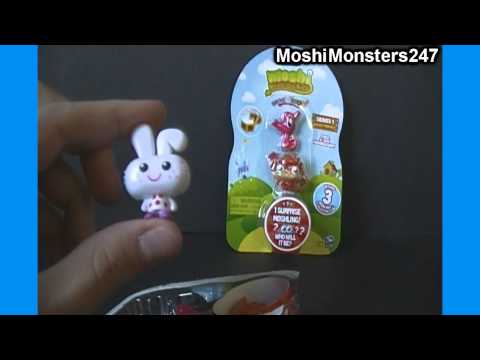 Unboxing 2 Moshi Monsters Moshlings US Figure 3-Packs