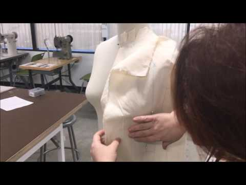 Fashion Draping A Woman's Top