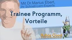 Trainee Programm, Vorteile