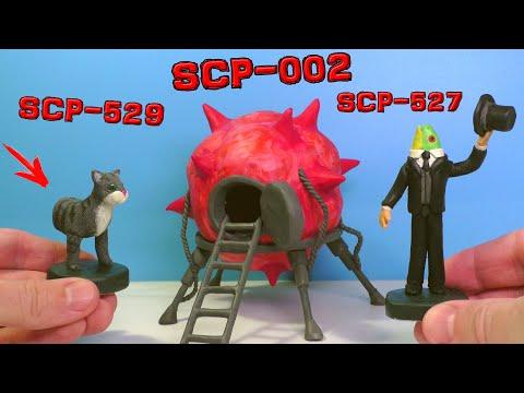 Ліпимо Живу кімнату SCP-002, SCP-529 Полукошка Джозі і SCP-527 Пан Риба з пластиліну
