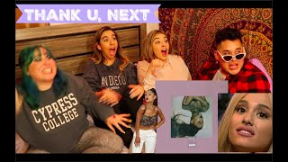 Ariana Grande's Thank u, next listening party!! *ALBUM AND VIDEO REACTION*