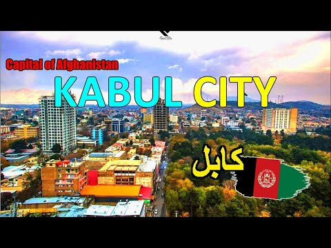This is Kabul City 2020 in 4K - Kabul City Beautiful Places
