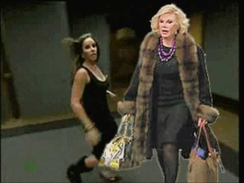 Joan Rivers GOES POSTAL on