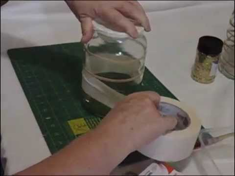 Coffee Jar Decorating Tutorial Youtube