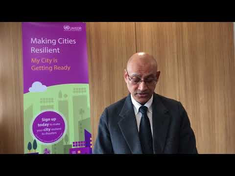 UNISDR Presentation on Making Cities Resilient and Open Data Infrastructure