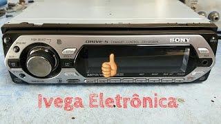 Rádio Sony com CD e Fm ruins.