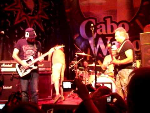 Sammy Hagar & Chickenfoot - Sexy Little Thing - Cabo Wabo 20th Anniversay - April 22, 2010