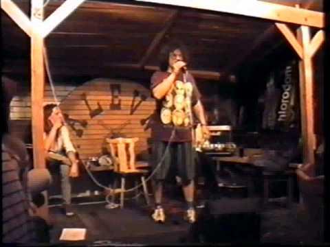 Návratníček, 1. část koncertu, Zelenáčova šopa, Zlín, 15. 8. 1999