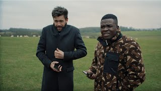 Michael Dapaah and Jack Whitehall get lost in the countryside trying to get home