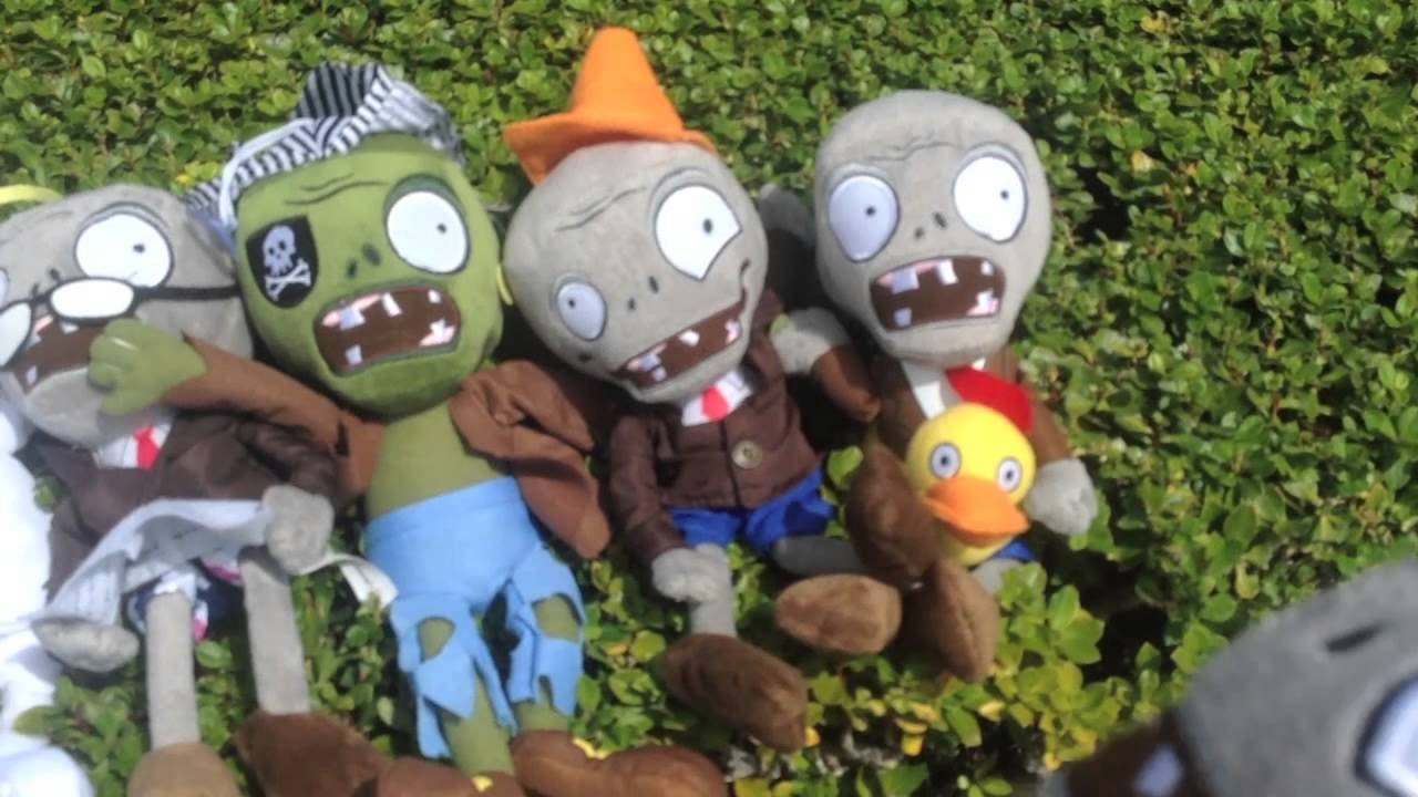 Plants Vs Zombies Plush The Puffshrooms Youtube