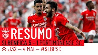HIGHLIGHTS: SL Benfica 5-1 Portimonense SC