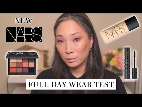 NARS - NEW Soft Matte Foundation And Extreme Climax Mascara Wear Test