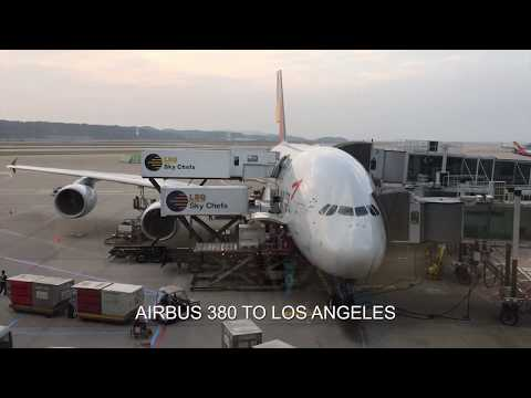 Asiana Airlines | Business Class | Seoul to Los Angeles | Lounge