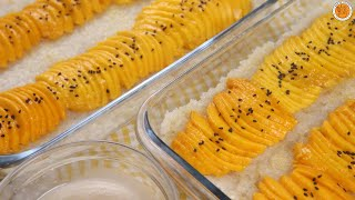 How To Make MANGO STICKY RICE with Coconut Sauce | Mortar and Pastry