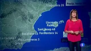 Tronades: 15mm estació Bocairent Càmping Mariola (AVAMET)