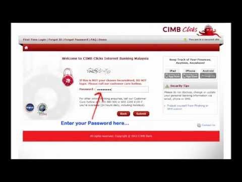 cimb click login