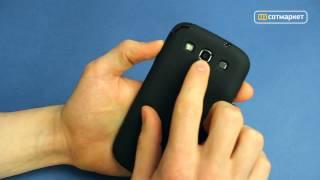 Видео обзор чехла для Samsung Galaxy S3 №180712 от Сотмаркета