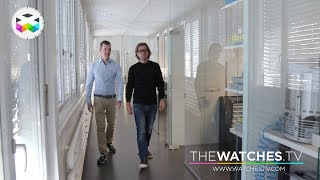 A Walkthrough a fresh Watch Manufacture with Armin Strom