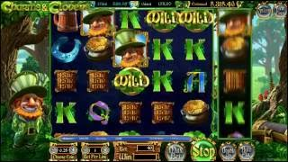Betsoft's slot game - Charms and Clovers with 6 reels and 40 paylin...