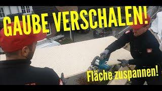 Dachdecker / Gaube verschalen und Dachfläche zuspannen mit PUREN DB BLAU