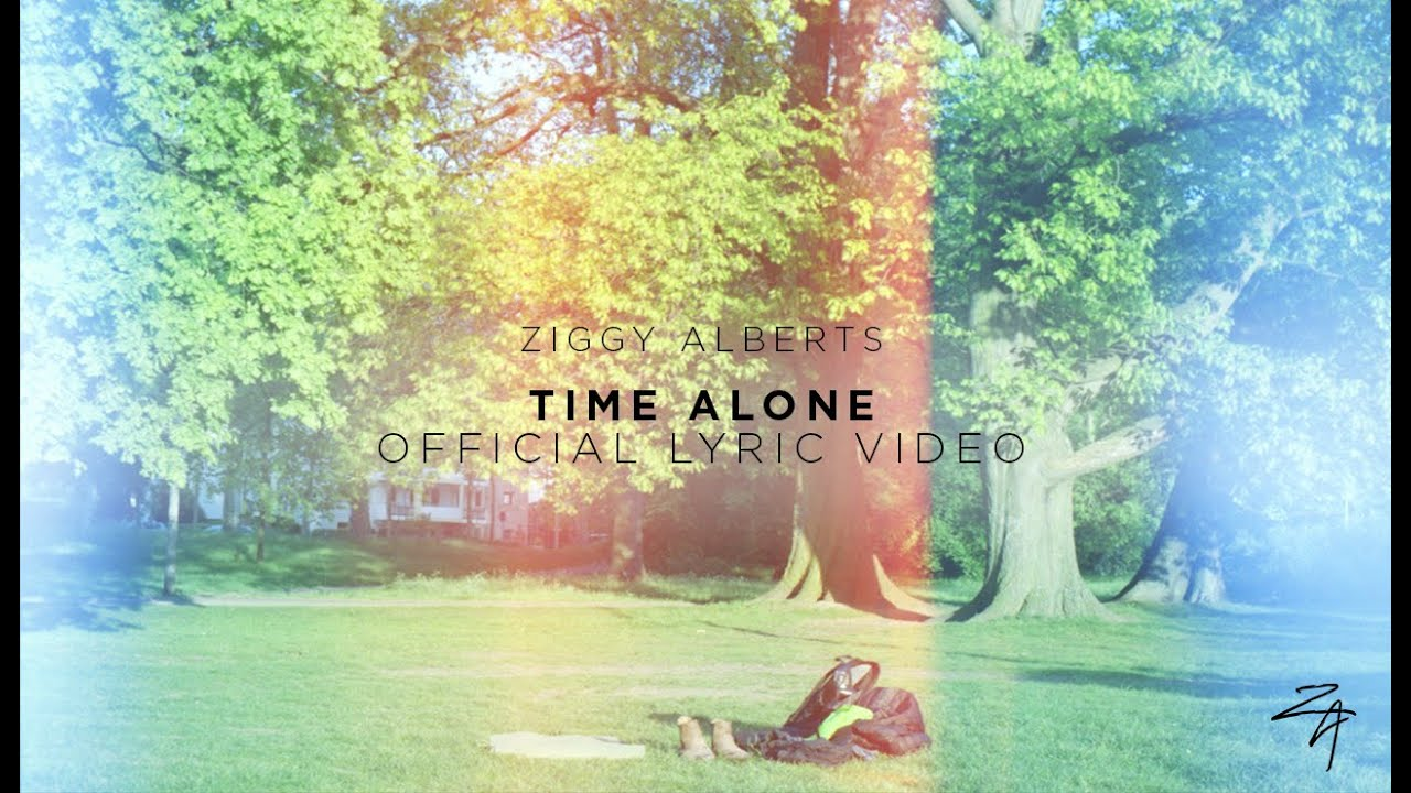 Ziggy Alberts - Time Alone (Official Lyric Video)