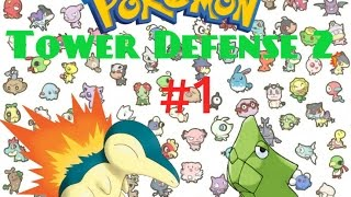 Un cindaquil debil y primera evolucion-pokemon tower defense 2 # 1