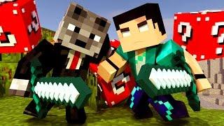Minecraft - HARDCORE EM DUPLA COM LUCKY BLOCK! - #01 VAMOS NOS ARMAR!