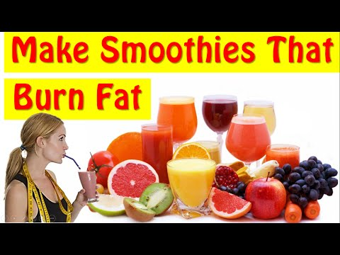 Learn How To Make Smoothies For Weight Loss At Home!