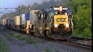 CSX in Upstate NY 1999 - Part 1