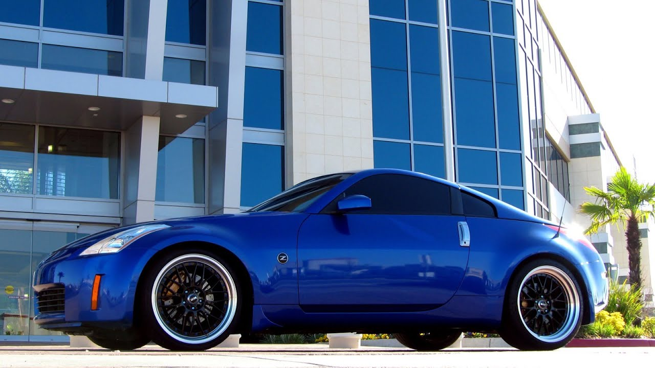 nissan 350z review modifications wheels exhaust brembo. Black Bedroom Furniture Sets. Home Design Ideas