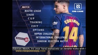 Winning Eleven 2018 PS2 Coutinho Barcelona