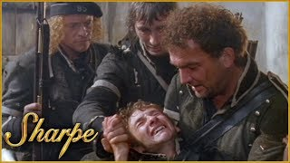 Sergeant Patrick Harper Says Goodbye To Perkins   Sharpe