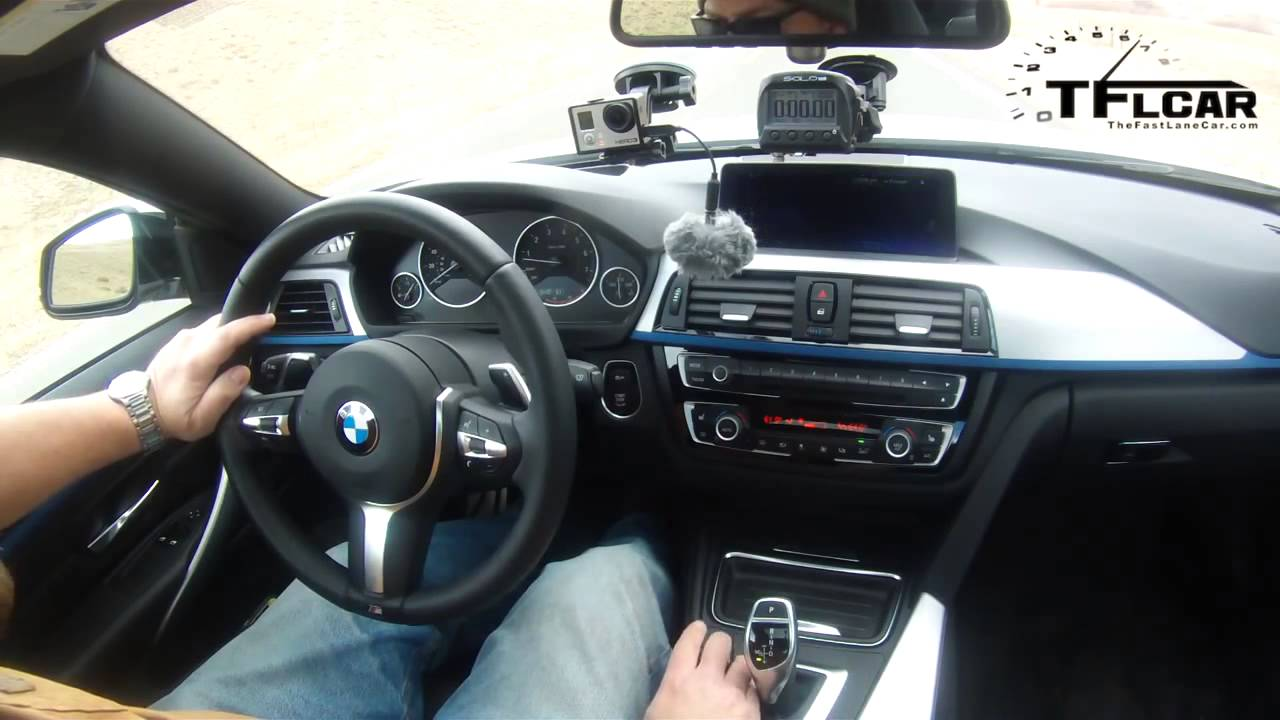 2014 bmw 435i xdrive 0 60 mph review - youtube