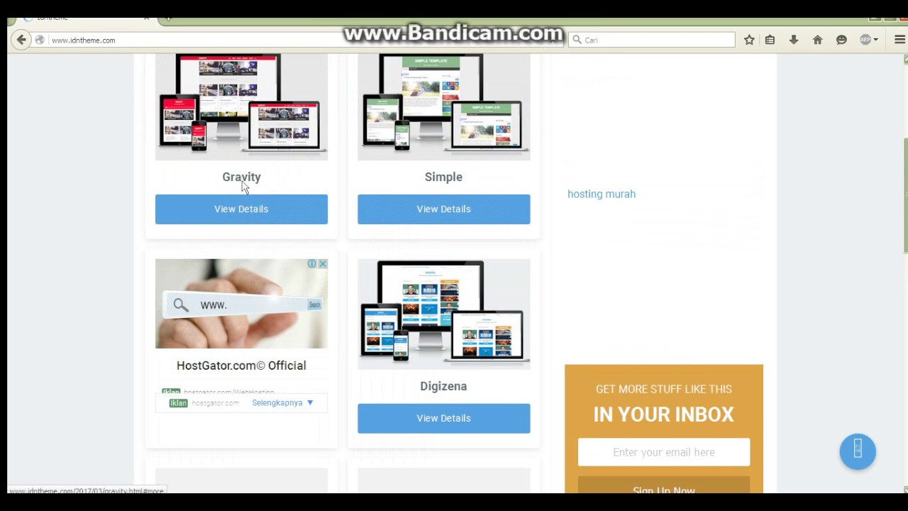 tempat mendownlaod templates blogger premium gratis - YouTube