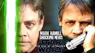 The Rise Of Skywalker Mark Hamill Shocking News Revealed! (Star Wars Episode 9)