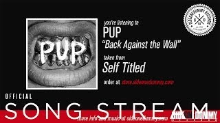 "PUP - ""Back Against the Wall"""